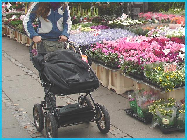 Jolie Maman Danoise tout en fleur- Botanical Danish sexy Mom- Copenhague. 20 octobre 2008.