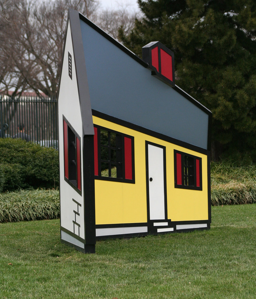 07a.House1.RoyLichtenstein.NGA.SculptureGarden.WDC.,28dec08