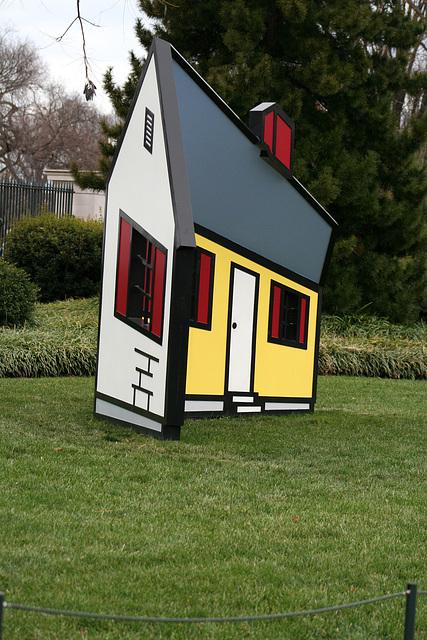 11.House1.RoyLichtenstein.NGA.SculptureGarden.WDC.,28dec08
