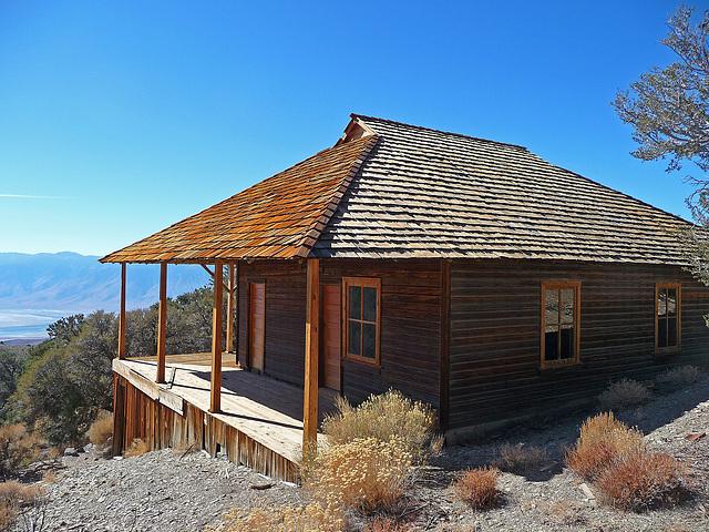 Salt Tram Summit Control Station Tenders Cabin (1860)