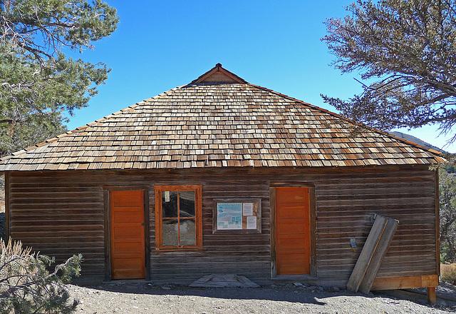 Salt Tram Summit Control Station Tenders Cabin (1896)