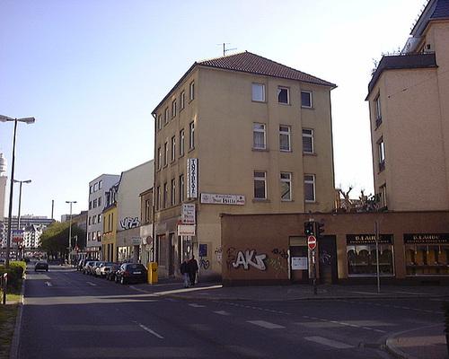Kunstprojekt rraum 2 Außenansicht Darmstädter Landstrasse, 2002 --- rraum027