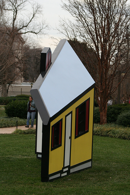 15.House1.RoyLichtenstein.NGA.SculptureGarden.WDC.,28dec08
