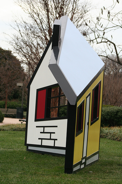 17.House1.RoyLichtenstein.NGA.SculptureGarden.WDC.,28dec08