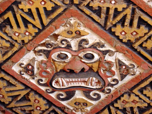 Decapitator, dieu de la culture Moche, Pérou