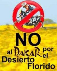 "Collectif ""Non au Dakar"" au Chili, 2008"