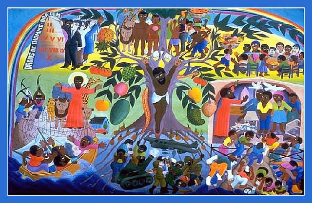 Droits de l'homme, par Jacques Chery, Haïti