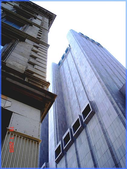Duo gratteurs de ciel- Skyscrapers duo- NYC.