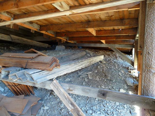 Salt Tram Summit Control Station Tender's Cabin - Under The Porch (1899)