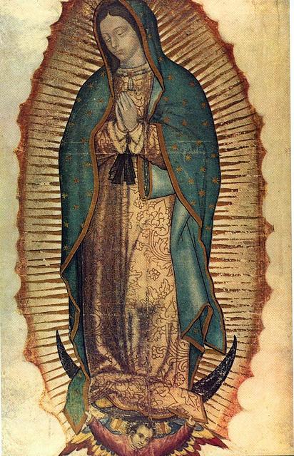 Vierge de Guadalupe, Mexique