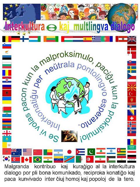 Interkultura kaj multlingva dialogo - en Esperanto