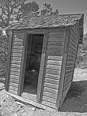 Salt Tram Summit Control Station Tender's Cabin - Outhouse (1907A)