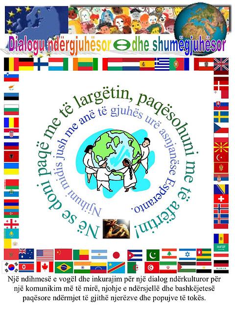 Interkultura kaj multlingva dialogo - en albana lingvo