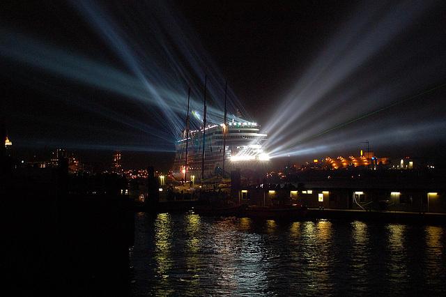 Aidadiva in Hamburg