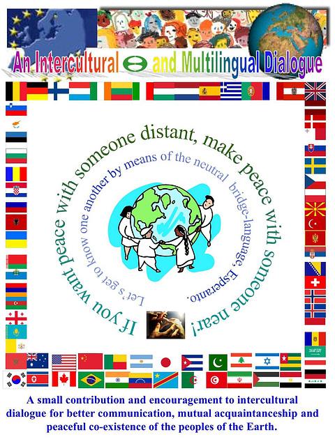 Interkultura kaj multlingva dialogo - en angla lingvo