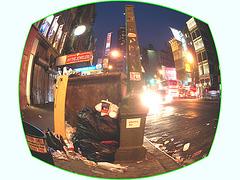 Mac Donald's / Sphérisation lentillaise - Spherical lens - NYC