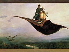 Le Tapis volant, par Viktor Vasnetsov