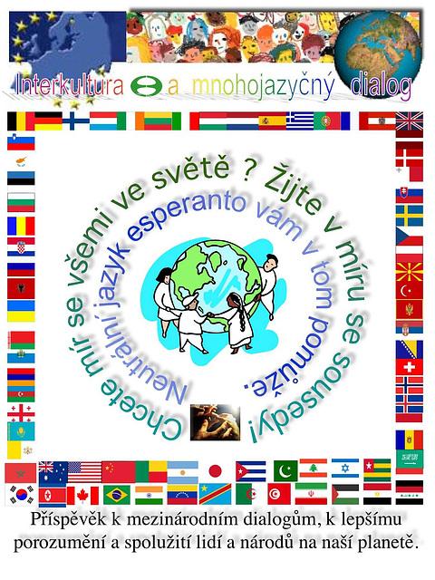 Interkultura kaj multlingva dialogo - en ĉeĥa lingvo