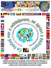 Interkultura kaj multlingva dialogo - en slovena lingvo