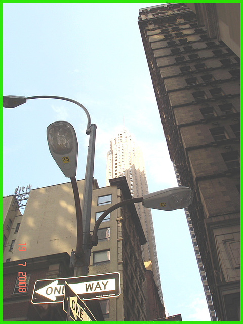 One way 25- NYC- 19-07-2008..