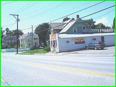 Thelma & Louise deli- Vermont- USA. August 2008.