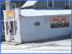 Thelma & Louise deli- Vermont- USA. August 2008. c