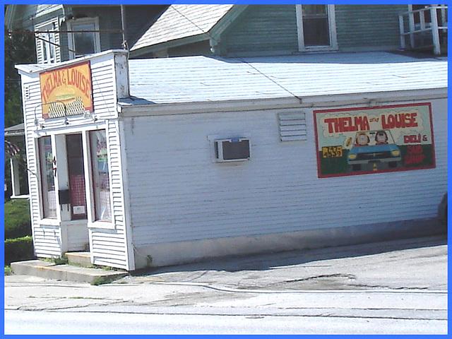 Thelma & Louise deli- Vermont- USA. August 2008. c