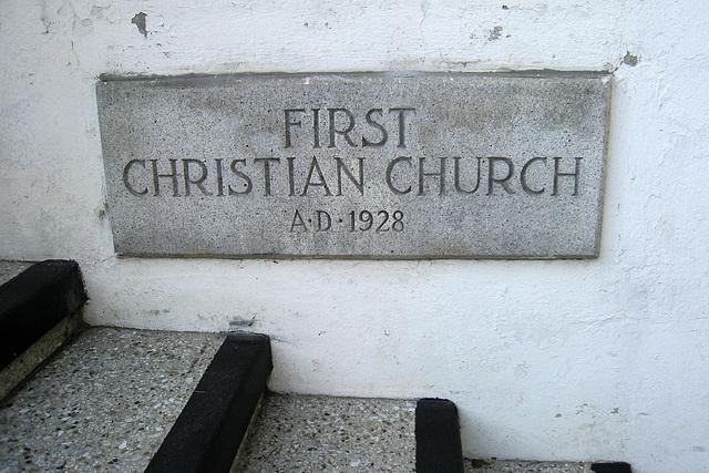 First Christian Church (1541)