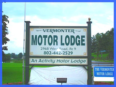 Vermonter Motor lodge- Vermont- USA- August 2008.