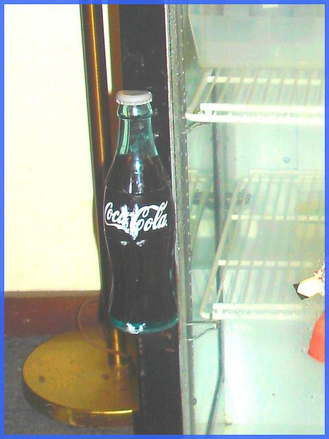 Coca Cola et jus d'orange / Orange juice & Coca-cola - Killington Pico Motor Inn.  Killington, Vermont / USA. 7 août 2008.