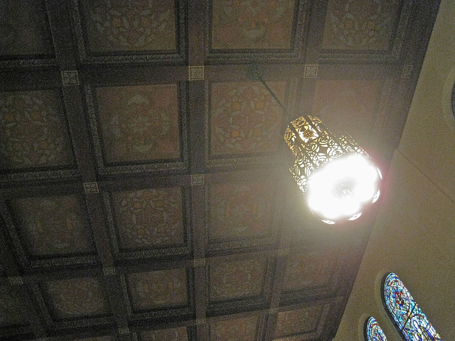First Christian Church Sanctuary Ceiling (1513)