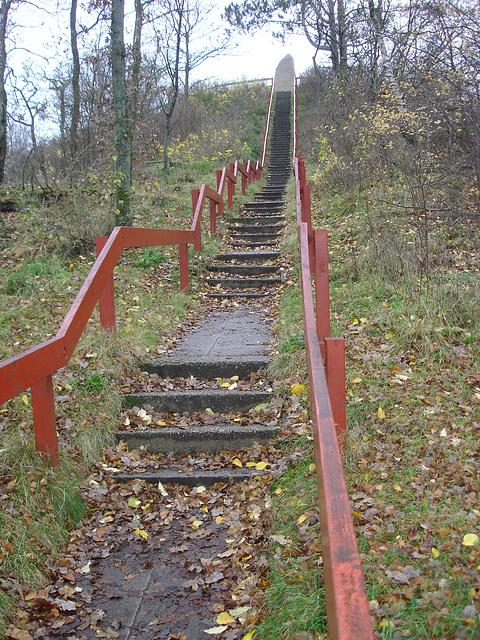 Treppe zum Blåbjerg