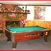 Killington Pico Motor Inn / Pool game table - Table de billard / Killington, Vermont. USA.  August 7th 2008.