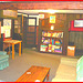 Killington Pico Motor Inn / Salle de repos et de jeu - Relaxation et games room / Killington, Vermont. USA.  7 août 2008.