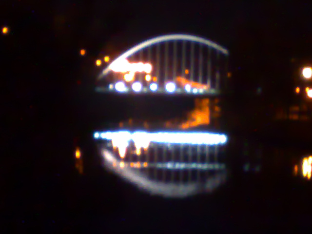 Pamplona: puente de las Oblatas.