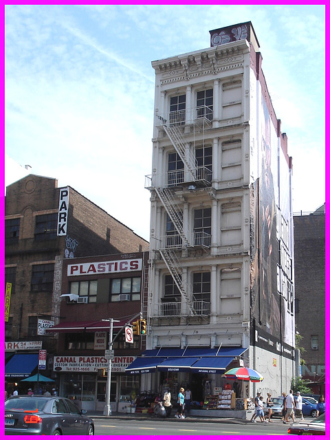 Plastics- Canal street-NYC.