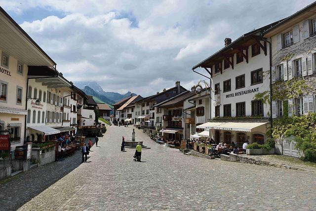 Le village de Gruyères