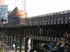 U3 - Brückenviadukt am Hamburger Hafen
