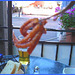 Greek octopus snack - Pieuvre à la grecque - Toronto. Canada. 1er Juillet 2007.