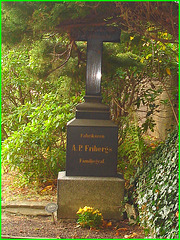Cimetière de Helsingborg- Suède- A.P. Friberg family / 22 octobre 2008.