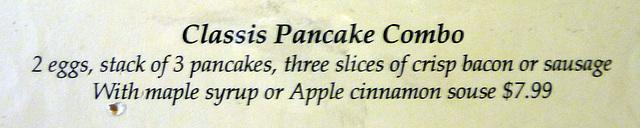 Classis Pancake Combo (1679)