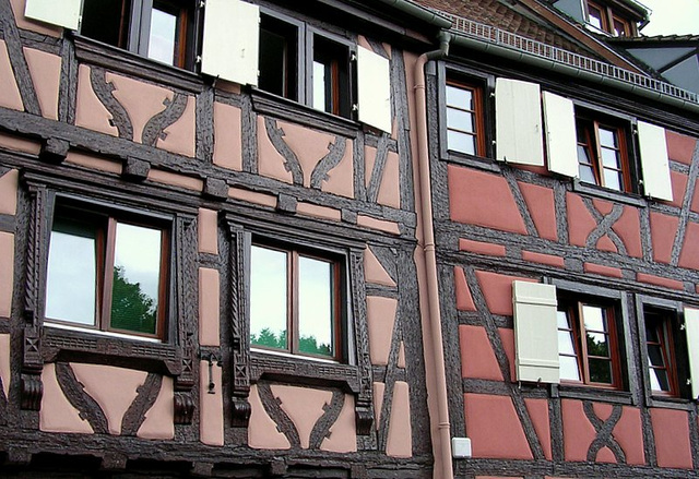 boiseries en façades
