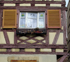 rideaux sur fenêtre