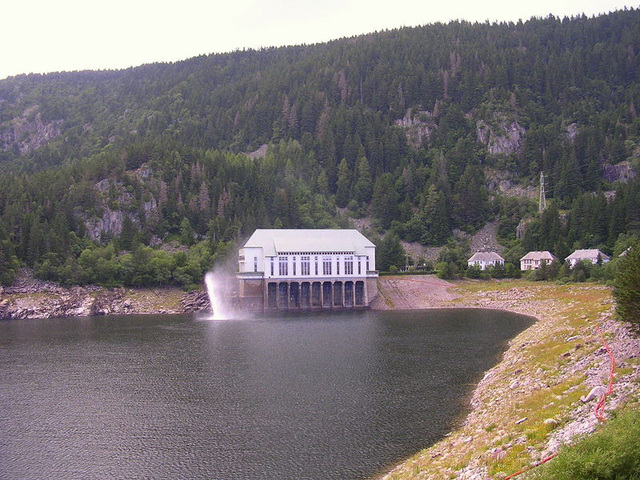 Le Lac Noir dans le massif des Vosges