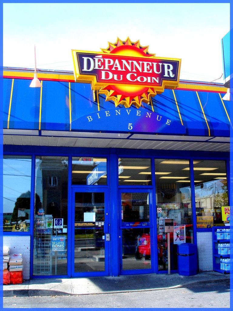 Ultramar- Dépanneur du coin -  Ultramar -  Chaîne de stations-service au Québec /  Famous gas stations in Quebec, CANADA. Dans ma ville / Hometown.