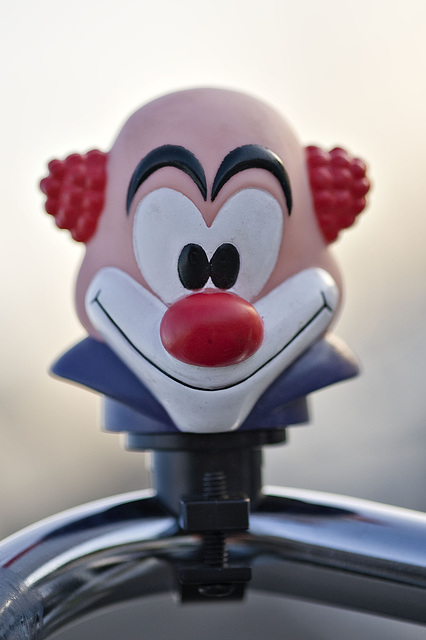 Ha ha said the clown