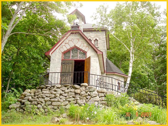 Abbaye / Abbey - St-Benoit du Lac - Québec- CANADA - La tour St- Benoit / 30-06-2007