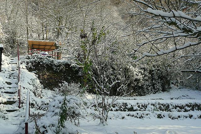 Der erste Schnee - la unua neĝo - la première neige - the first snow