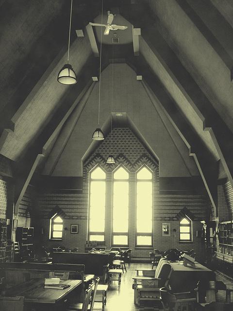 Abbaye de St-Benoit-du-lac au Québec - 7 février 2009 -  photo ancienne  / Vintage artwork