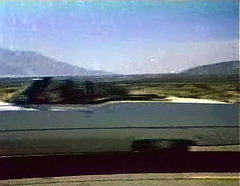 Driving South on Palm Canyon - No Windmills